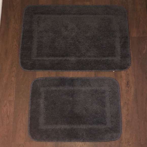 Other Bundle Dark Gray Bath Rugs Poshmark